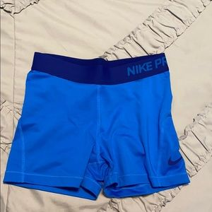 Spandex dri-fit shorts